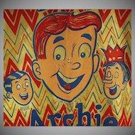 Vintage Halloween Costume - Old Archie Andrews Comics Costume