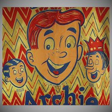 Vintage Halloween Costume - Old Archie Andrews Comics Costume