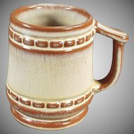 Vintage Frankoma Pottery - Old Coffee Mug in Desert Gold