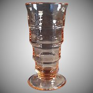 Vintage Pink Paden City Soda Fountain Malt Glass - 3 Available