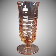 Vintage Parfait Glass - Old Paden City in Pink - 3 Available