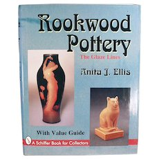 Old Reference Book - Rookwood Pottery - The Glaze Lines by Anita J Ellis