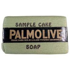 Vintage Soap Bar Sample -  Old Palmolive Soap Sample Cake