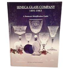 Old Reference Book - Seneca Glass Company - Stemware Identification Guide - Hardbound