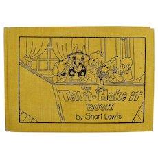 Children's Vintage Book -  Shari Lewis Tell it - Make it Storybook