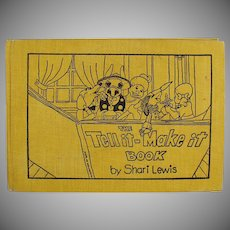Children's Vintage Book -  Shari Lewis Tell it - Make it Storybook