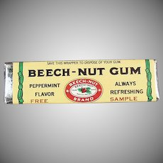 Vintage Beech-Nut Gum - Old Sample Stick