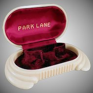 Vintage Jewelry Display Box - Old Park Lane Bracelet or Wrist Watch Box