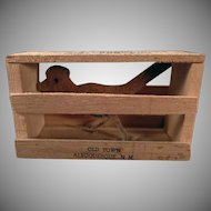Vintage Promotional Mailer – Roadrunner in a Crate – Albuquerque Souvenir