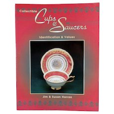 Old Reference Paperback Book - Harran's Collectible Cups & Saucers