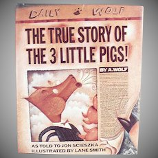 Old Storybook - The True Story of the Three Little Pigs - Jon Scieszka