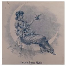Vintage Sheet Music – 1880's - Yosemite Schottische Dance Music