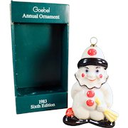 Vintage Goebel Christmas Tree Ornament - Old Goebel Ornament with Original Box - 1983