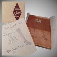 Vintage Nylon Stocking - Unused Pair – Old Maling's Sheerlove Nylons Size 10 1/2