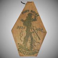 Vintage Key Ring - Old Idaho Memorabilia - Fort Boise Centennial - Boise Souvenir