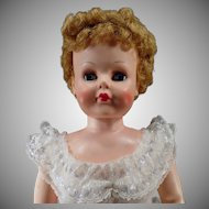 "Vintage Deluxe Reading Doll - Old Betty the Beautiful Bride 30"" Vinyl Doll"
