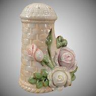 Vintage Schafer and Vater Hat Pin Holder – Old S & V Hatpin Holder with Roses
