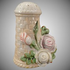 Vintage S & V Schafer and Vater Hat Pin Holder with Roses
