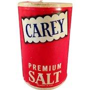 Vintage Salt Box - Old Carey Salt Box from Hutchinson, Kansas