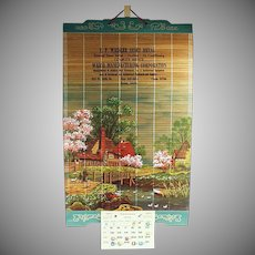 Decorative Old Advertising Calendar - 1970 with Idaho Advertising