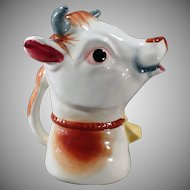 Vintage Cow Cream or Milk Pitcher – Old Creamer Made in Japan – Large Size