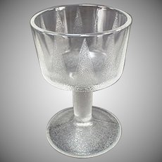 Vintage Soda Fountain Glass - Old Sherbet Dish with a Deco Design - 3 Available
