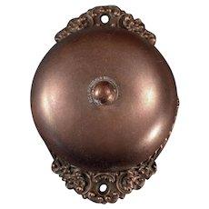 Antique Door Bell - Old 1893 Russell and Erwin Mechanical Doorbell