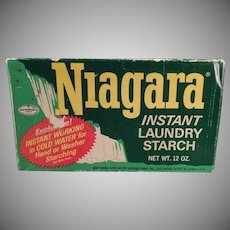 Vintage Niagara Starch Box - Nice Laundry Room Decorating Item