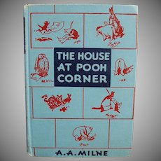 Vintage Winnie the Pooh Book - The House at Pooh Corner 1952 Hardbound Edition