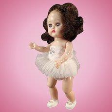 Vintage Cosmopolitan Ginger Doll Wearing a Ballerina Tutu - Bent Knee Walker