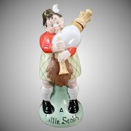 Vintage S & V Decanter - Large Schafer and Vater Little Bagpipe Player
