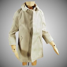 Vintage Doll Clothes - All Weather Over Coat for Mattel's Ken Doll