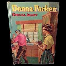 Vintage Donna Parker Book - 1957 Donna Parker Special Agent - Old Novel by Marcia Martin