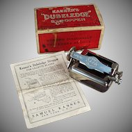 Vintage Razor Blade Stropper - Old Kanner's Dubeledge Sharpener with Original Box