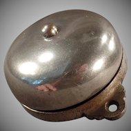 Antique Mechanical Door Bell - Patent 1899 - Simple Old Doorbell