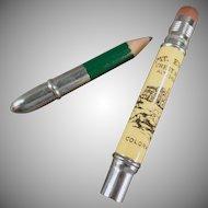 Vintage Souvenir Pencil - Old Crest House Advertising - Mt. Evans Colorado