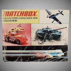 Vintage Matchbox Collectors Catalogue Identification List - 1974 - Great Reference Catalog