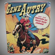 Vintage Gene Autry Better Little Book - Paint Rock Canyon - No. 1425