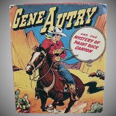 Vintage Gene Autry Better Little Book - Paint Rock Canyon - No. 1425