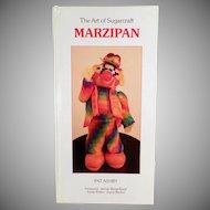 Old Craft Book- The Art of Sugarcraft - Marzipan - 1986 Hardbound Edition