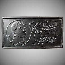 Vintage Razor Hone - Old Koken's Moor Sharpening Stone for Razor Blades
