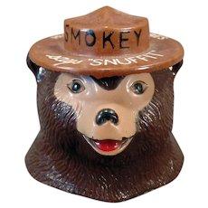 Vintage Smokey Bear Snuffit for Car Dashboards – Old Smoky the Bear Dash Ashtray