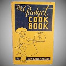 Vintage Best Foods Budget Cook Book – 1935 – Old Recipe Book