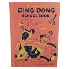 Children's Vintage Project Book -  1960's Miss Frances' Ding Dong School Book