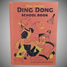Children's Vintage Project Book -  1960's Miss Frances' Ding Dong School Book