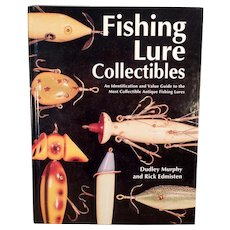 Vintage Reference Book – Fishing Lure Collectibles – Murphy-Edmisten - Hardbound