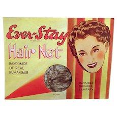 Vintage Hair Net Package – Old Ever-Stay Hair Net, Unopened