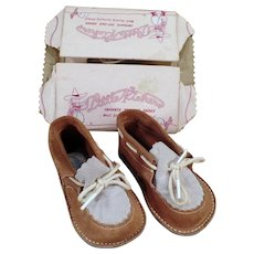 Vintage Baby Shoes - Old Gertrude Little Kickers – Like New