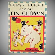 Vintage Book - Topsy Turvy Tin Clown by Bernice G. Anderson - Black Memorabilia