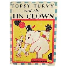 Vintage Book - Topsy Turvy Tin Clown by Bernice G. Anderson - Black Memorabilia